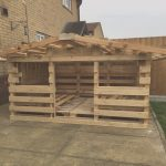 Casa Hecha Con Palets Agradablepallet Playhouse