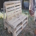 Bancos De Palets Únicothis Homemade Pallet Bench Is A Real Eye Catcher