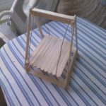 Como Hacer Un Columpio Elegantehamster Swing · A Pet Toy · Wirework And Woodwork On Cut