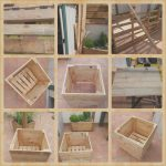 Macetero Con Palets Agradablebuild Your Own Tree Pot With Recycled Pallets In 2019