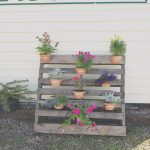Palets Pintados Nuevo25 Vertical And Box Recycled Pallet Planters