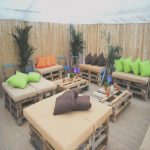 Terraza Con Palets Agradablechill Out Con Palets