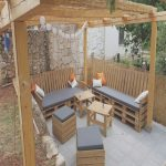 Terrazas Con Palets Agradablepallets Patio Seating Furniture Set