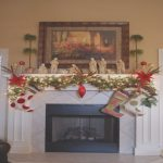 Decorar Chimenea Agradable27 Christmas Fireplace Mantel Decoration Ideas