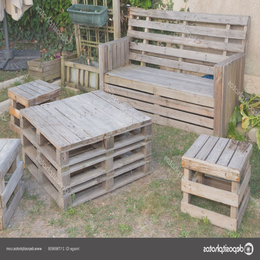 stock photo vintage wooden recycled palets make