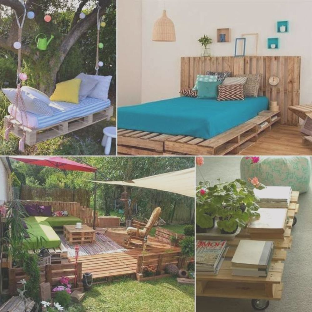 15 spectacular ideas recycle use pallets