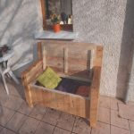 Sofas Palets Exterior Agradablepallet Sofa With Built In Storage Space 101 Pallet Ideas
