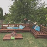 Sofas Palets Exterior Agradablepallets Outdoor Sofa And Table On Casters