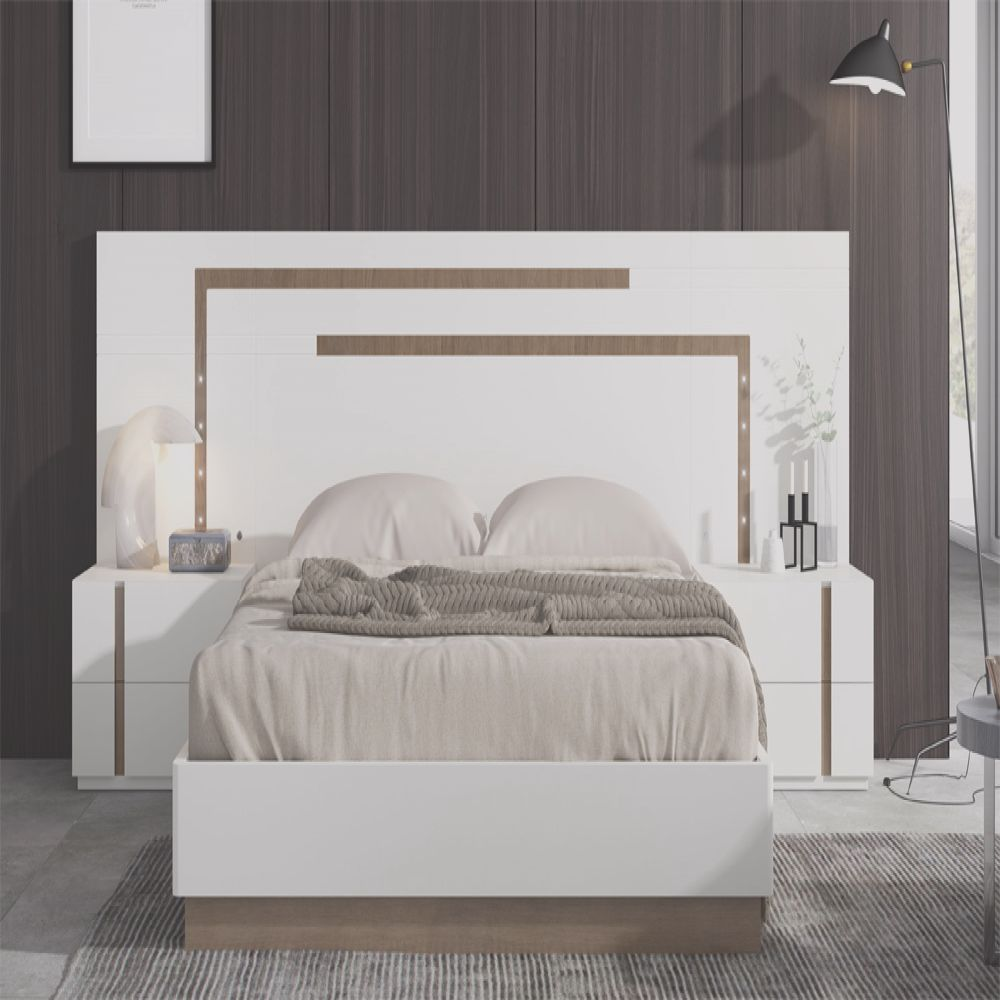 dormitorio moderno luces led