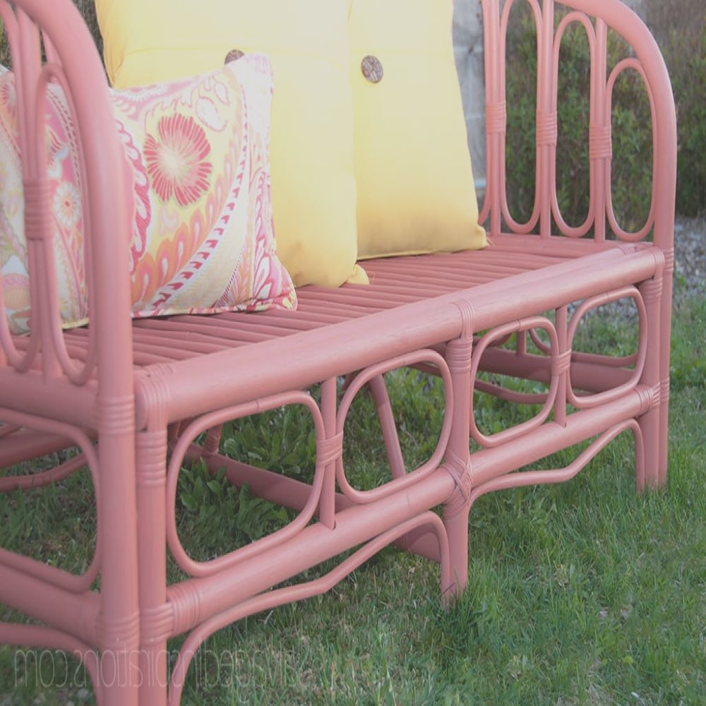 painting outdoor furniture with chalkmineral paint