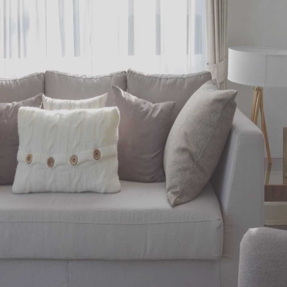firm frumpy sofa cushions trick