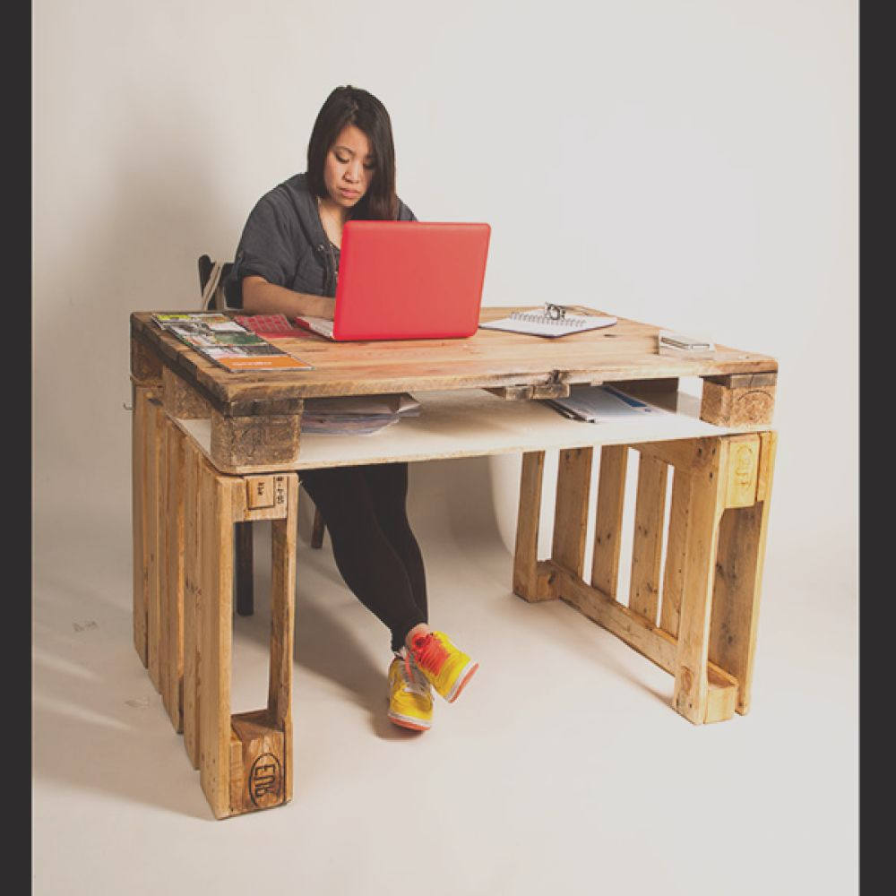 Recycle Project Pallet Desk