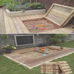 Ideas Palets Exterior Lo Mejor De17 Cute Upcycled Pallet Projects For Kids Outdoor Fun