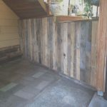 Ideas Palets Exterior Únicooutdoor Wall Covered With Pallets • 1001 Pallets