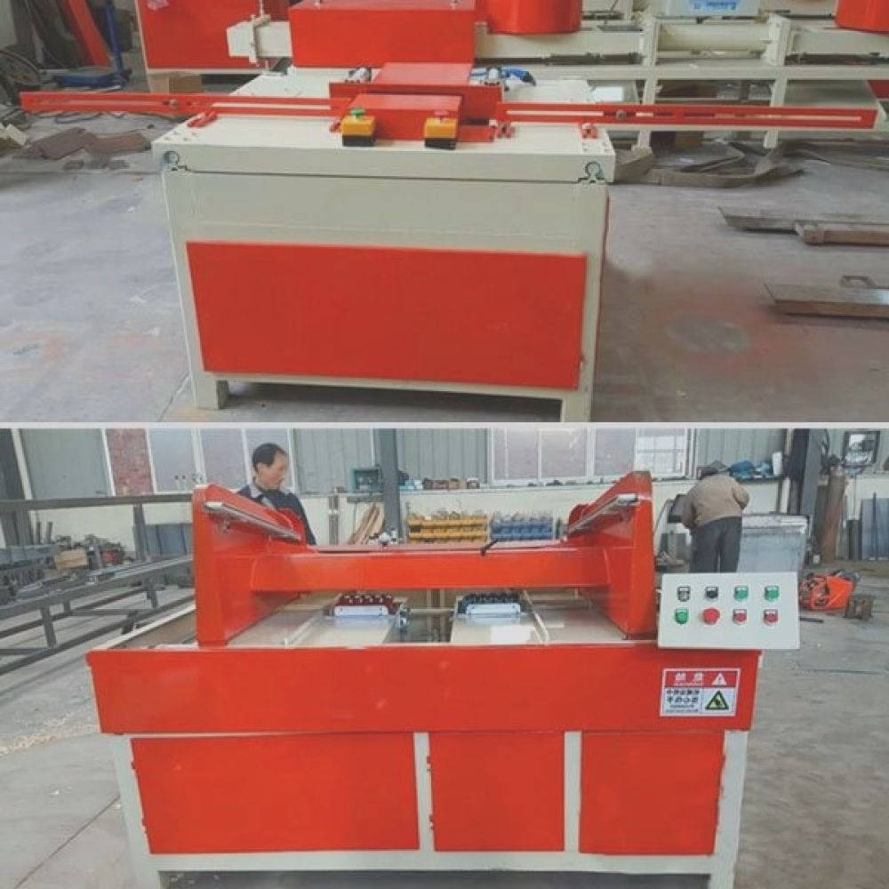 sale single head stringer pallets wood notching machine