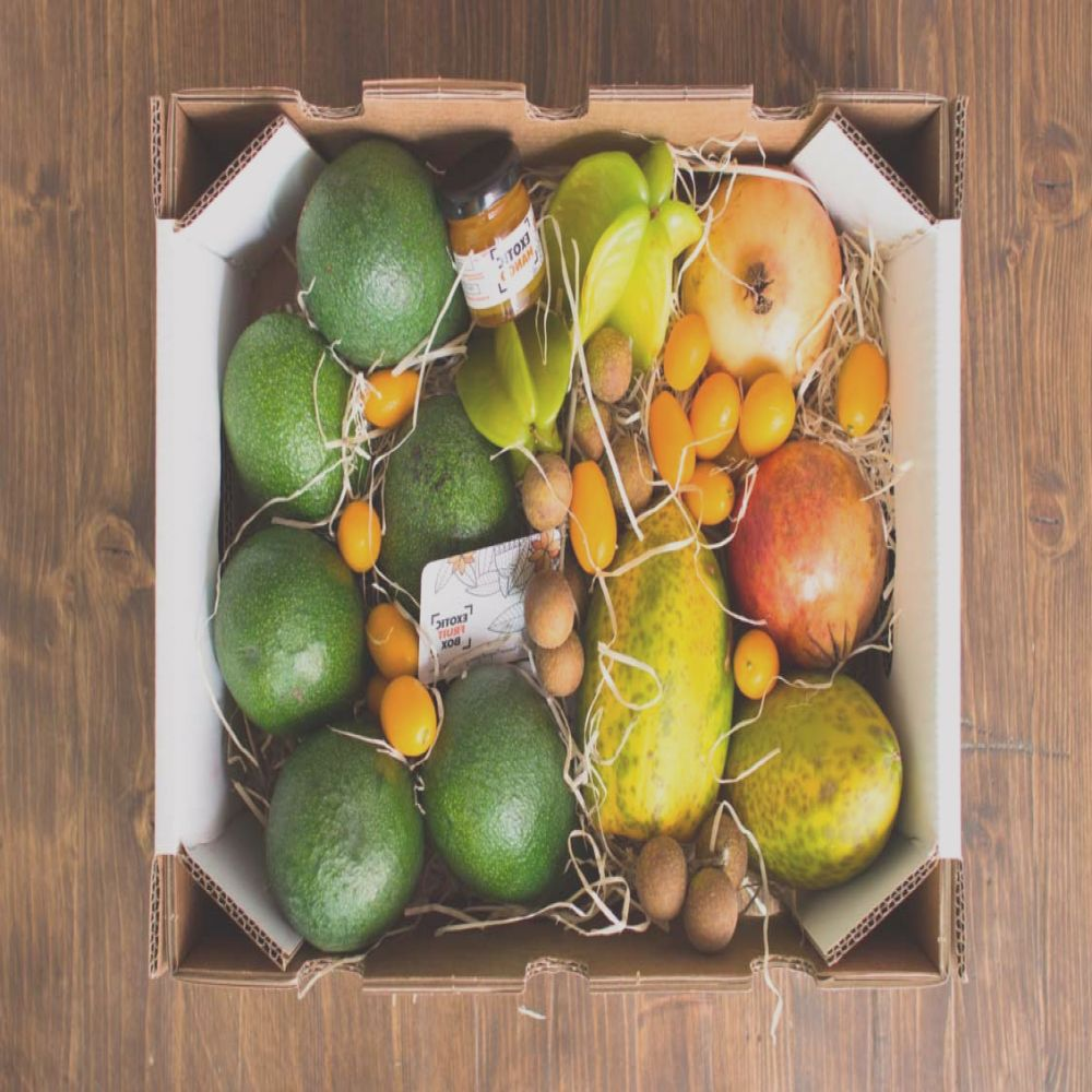 cajas frutas exoticas exotic fruit box