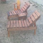 Chaise Longue Palets Impresionantereclaimed Pallet Wood Chaise Lounge Chairs Adjustable