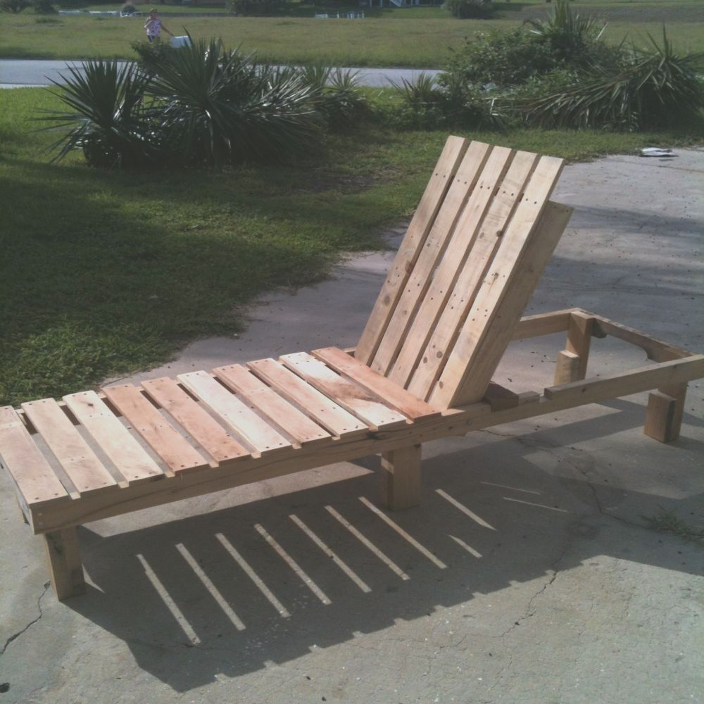 diy outdoor chaise lounge chairs