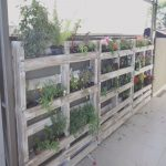 Palet Plantas Lujopallets Wall Planter In My Garden • 1001 Pallets
