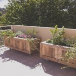 Palet Plantas Lujorecycled Wood Pallet Planter Ideas