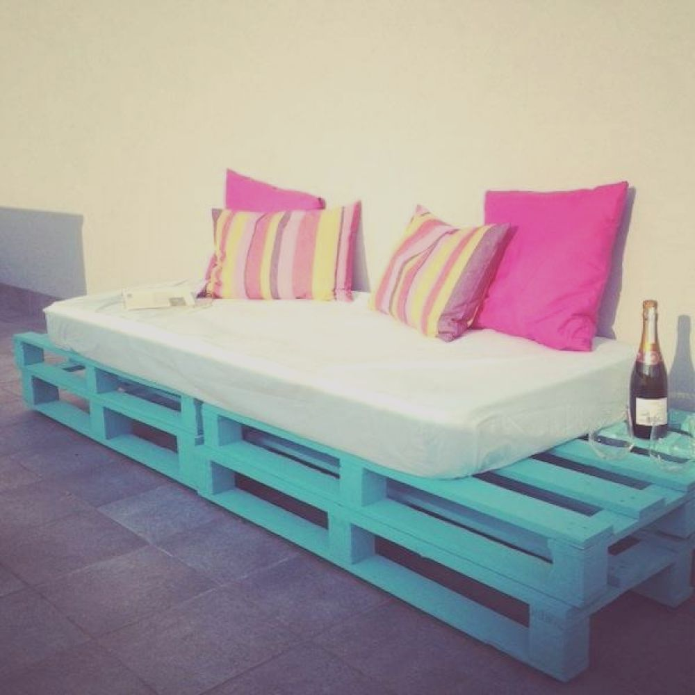 diy pallet sofa outdoor daybed