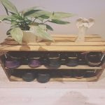 Zapatero Hecho A Mano Agradableshabby Chic Wooden Shoe Rack Handmade Vintage Apple