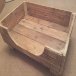 Cama Perro Palets Comprar Lujorustic Dog Bed Made From Reclaimed Pallet Wood