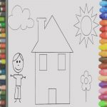 Dibujo Casita Infantil Agradablecollection Of Casita Para Pintar Inicial