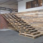 Escalera De Palets Únicostair Wall Pallet Costruction