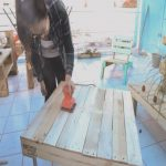Lijar Palets Agradablemesa Hecha Con Pallets 8 Steps With