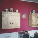 Palets Azules Frescowall Mounted Pallet Kitcehn Cabinets 960×720