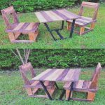 Palets Azules Lujoideas For Making Decorative Objects From Pallets