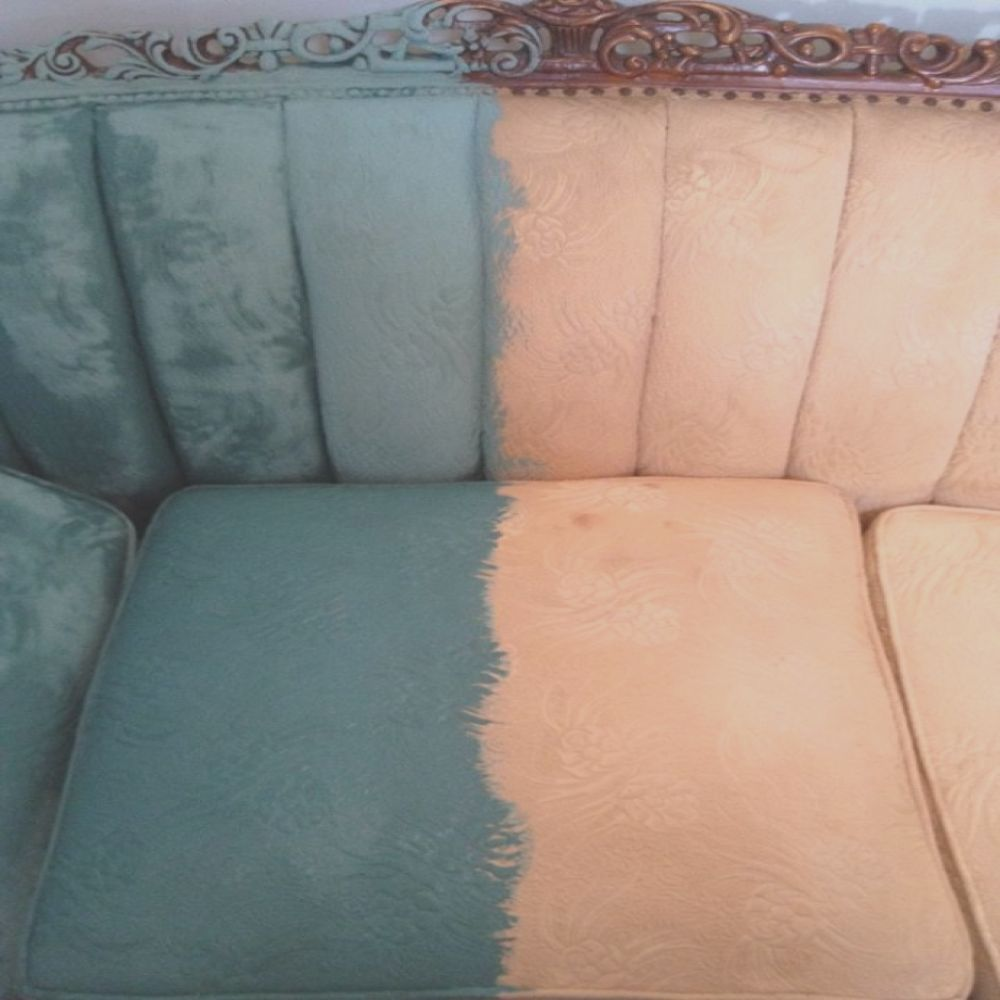 that time i painted a victorian sofa with paint
