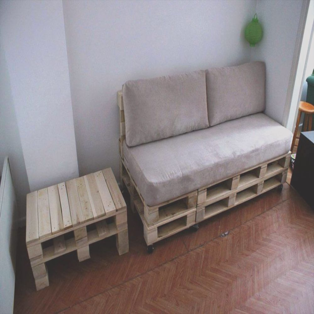 diy pallet sofa and coffee table 3