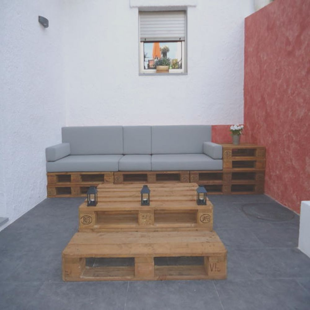 chill outs y muebles con palets