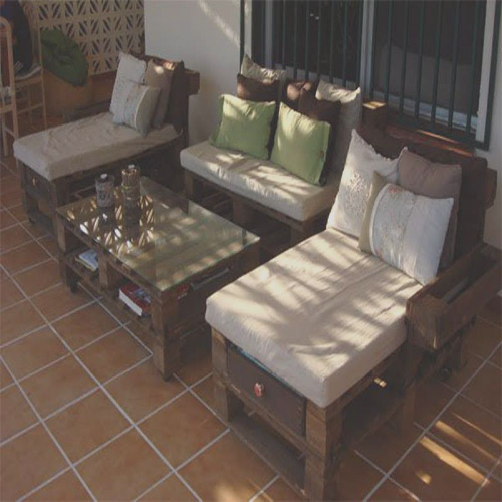 chill out con palets reciclados