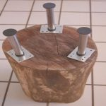Como Hacer Una Mesa De Madera Pequeña Agradablestumped How to Make A Tree Stump Table