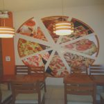 Decoracion Pizzeria Agradabledecoracion De Pared Con Pizza Ciluetas Buscar Con Google