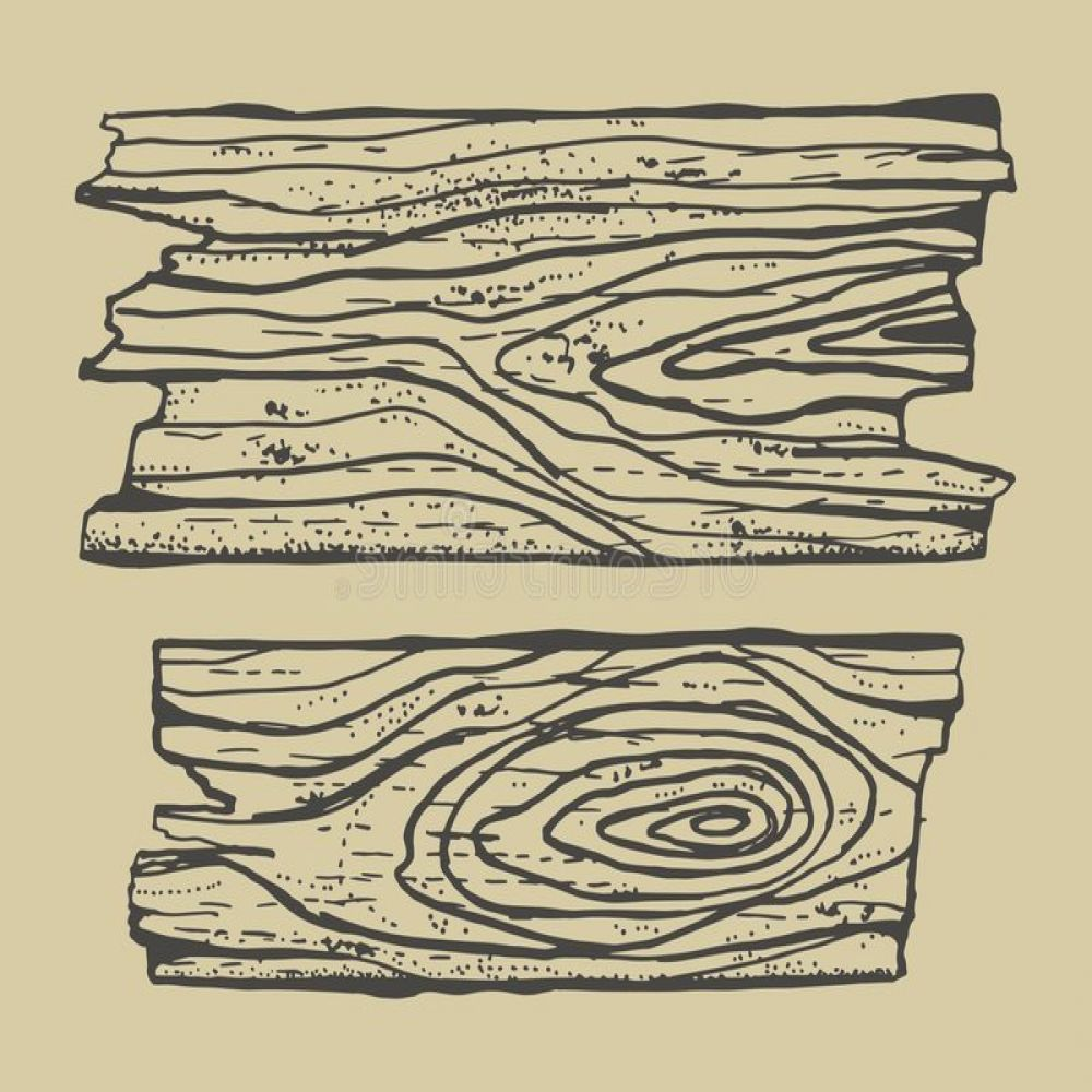 stock illustration wood texture drawing hand made pieces broken boards icon image