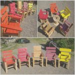 Hacer Mesa De Palets Frescokids Armchairs Project with Recycled Pallets • 1001 Pallets
