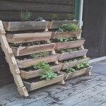 Jardines Verticales Palets Inspiradorrecycled Pallet Wood Planters