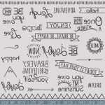 Letras Bonitas Para Escribir Word Únicodoodle Words Clipart Clip Art Typography Word Subway Art