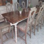 Mesa Comedor Chalk Paint Agradableannie Sloan S Chalk Paint In Old White And Coco So Dreamy