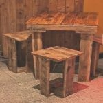 Mesas Y Sillas Con Palets Lujopallet Table Easy To Diy Would Be Cute For Our Deck