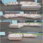 Palets Sofas Frescooutdoor Couch Set Made With Pallets
