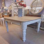 Pintar Mesa De Madera En Blanco Agradable14 Best Farmhouse Tables With Black Legs Images On