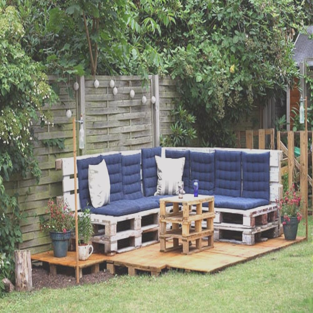 diy outdoor pallet projects