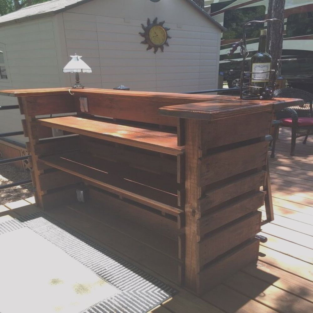 amazing bar projects out of recycled wood pallets