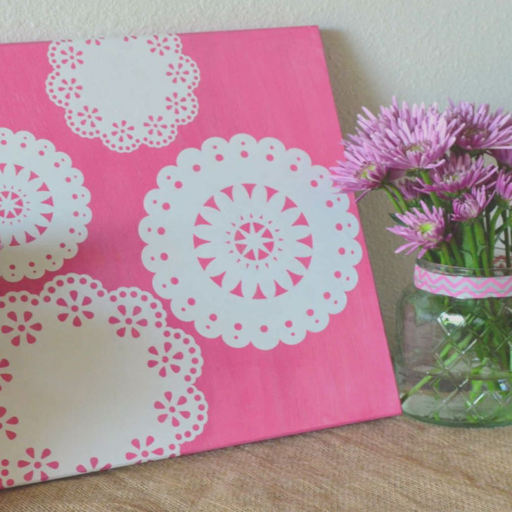 awesome lace decoupage projects