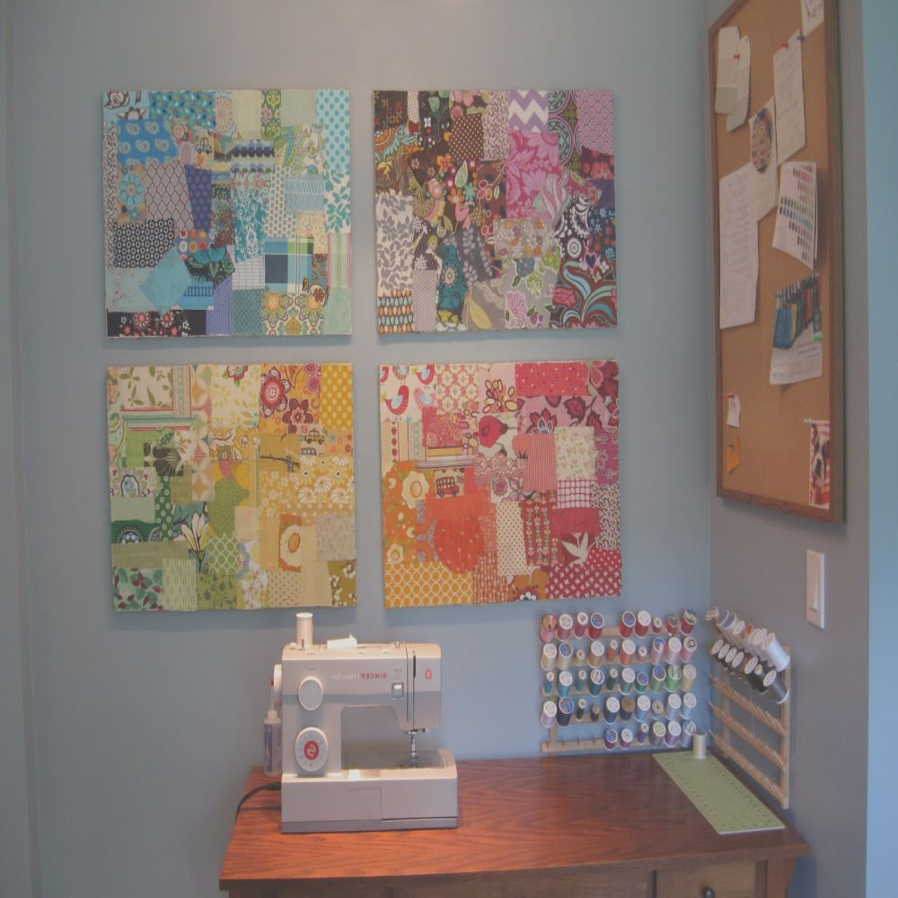 decoupage canvases diy